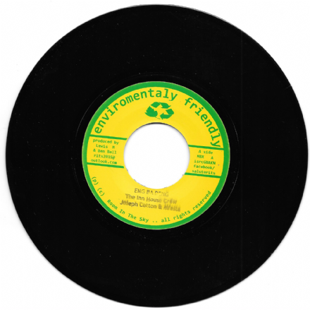 SALE ITEM - The Inn House Crew, Joseph Cotton & Mfesta - Eng Ba Deng / Version (R.I.T.S.) 7""